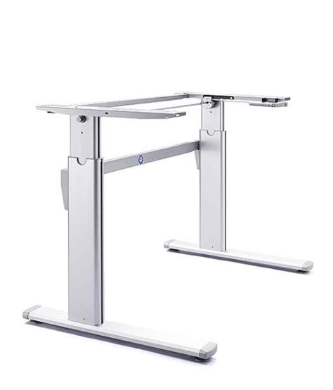 height adjustable desk frames standing desk frame zen height adjustable guaranteed