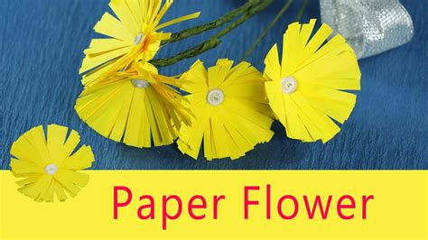 Easy Paper Flower Crafts For - paper flower craft for easy diy paper flowers