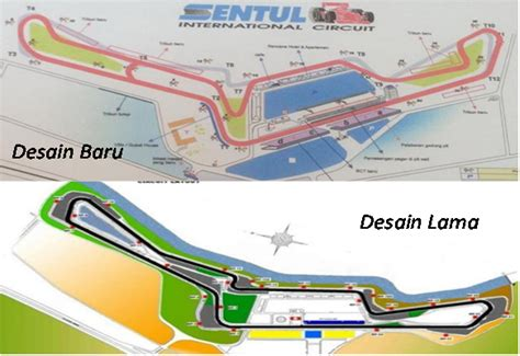 layout sirkuit sentul yang baru indonesian grand prix 2017 sentul ditolak tinton meradang