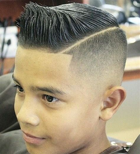 haircuts for 14 year old boys windblown pompadour haircut for kids pidgeotto haircut
