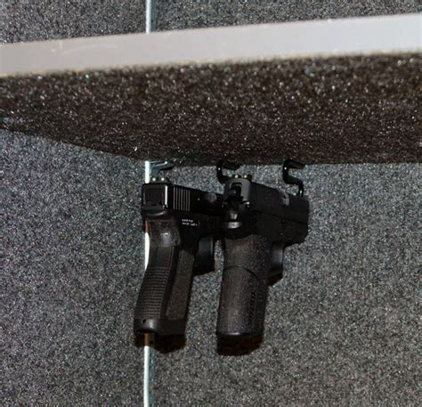 rural king gun cabinet gun storage solutions back under handgun hangers gun