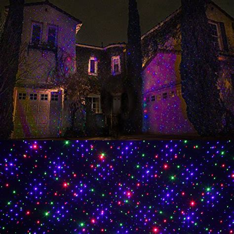 Rgb Landscape Lights Outdoor Rgb Light Projector Dynamic Firefly Starry Laser Light Show Us Ebay