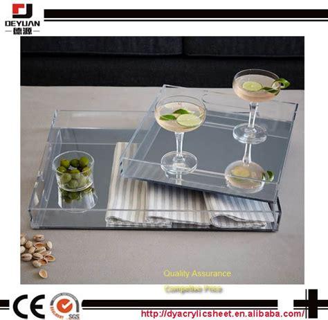 wholesale mirror tray centerpiece acrylic mirror tray