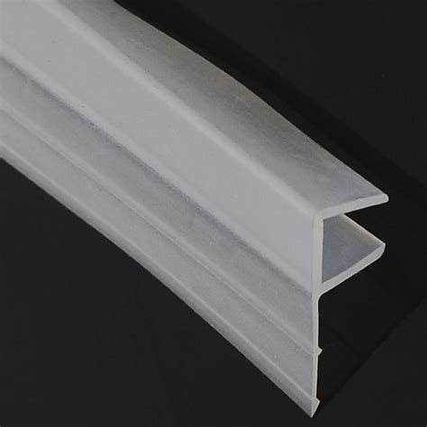 factory direct shower door rubber seal glass edge trim