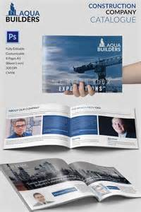 Company Catalogue Template 11 top construction company brochure templates free