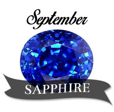 birthstone color for september stunning sapphire the birthstone of september