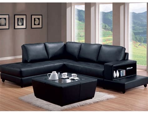 black leather l shaped sectional black leather match trenton l shaped sofa by coaster 500645l