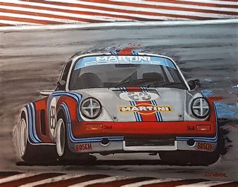 martini porsche rsr porsche rsr martini racing 1973 gallery race cars paintings
