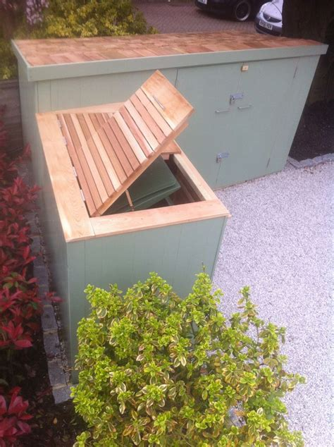 Front Garden Bike Shed by Painted Cladding Cedar Roof On Bike Shed And Cedar Slats