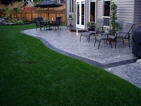 Decorative Concrete Patio Ideas by 25 Best Ideas About Concrete Patio Stain On