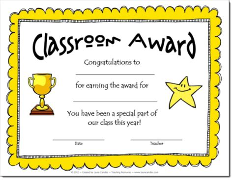 school certificates templates corkboard connections classroom awards make feel