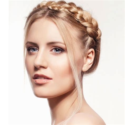 haircuts for slim faces buns hairstyles and braided buns on pinterest