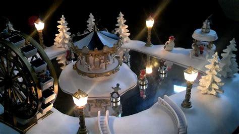 christmas magic winter wonderland animated village