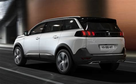 peugeot 4x4 models 2017 peugeot 5008 joins the suv crowd