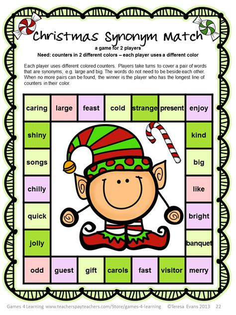 printable christmas phonics games fun games 4 learning christmas literacy freebies