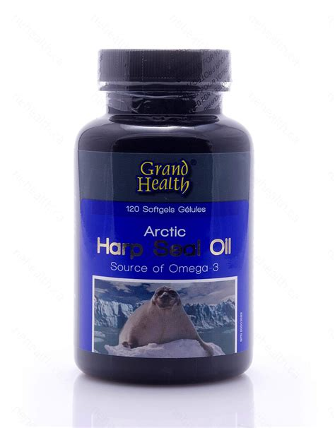Seal Oli Harp Seal Supplement By Grand Health