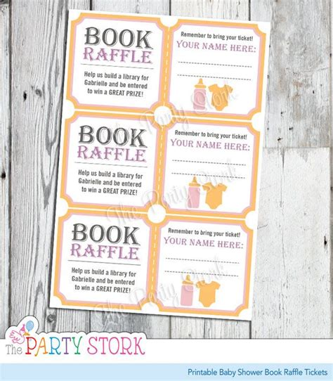 Book Theme Baby Shower by Baby Shower Raffle Ideas Game Archives Baby Shower Diy