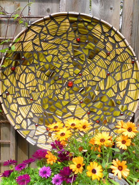 mosaic garden creating a garden mosaic could it be knitting for