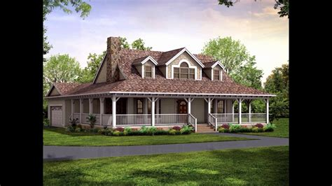 southern living house plans best of wrap around porch