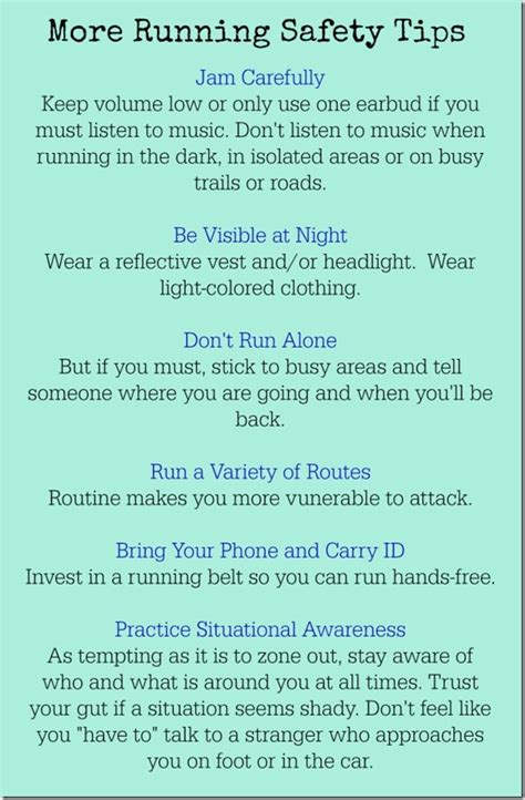 9 tips for running safely runner personal safety tips a giveaway