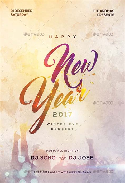 new year templates 2016 ffflyer new year psd flyer template nye