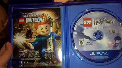 Kaset Ps4 Lego Harry Potter Collection lego harry potter collection unboxing ps4 only