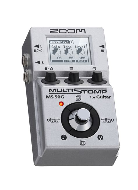 Zoom Multistomp ms 50g multistomp guitar pedal zoom