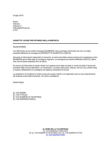 lettere di scuse in scuse per risposta in ritardo modelli e esempi di moduli