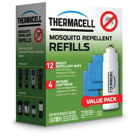 thermacell mosquito repellent refill value pack 126222