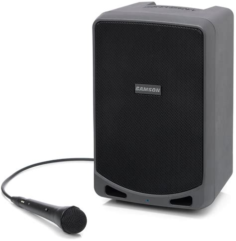 Samson Xp106 Rechargeable Portable Pa With Bluetooth samson expedition xp106 rechargeable portable pa with built in mixer bluetooth and microphone