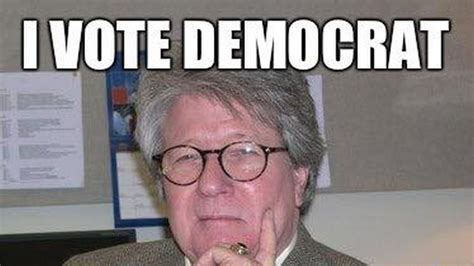 I Voted Meme - new meme reveals exactly why some people vote democrat