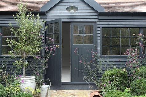 blog amber interiors painted garden sheds garden