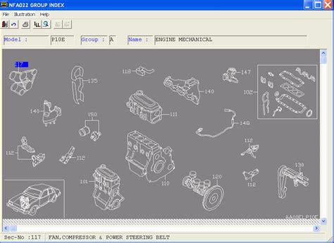 download car manuals 2000 infiniti i spare parts catalogs nissan infinity epc el