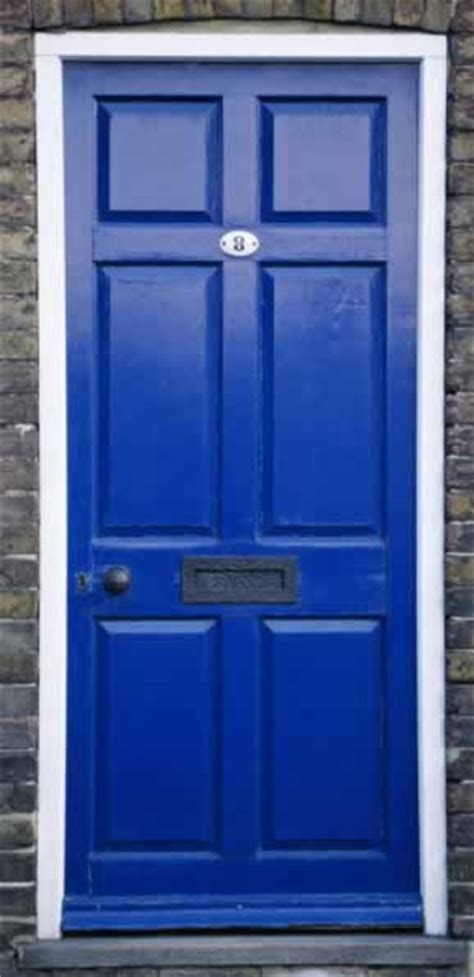 Blue Exterior Door The Transforming Townhouse Shut The Front Door