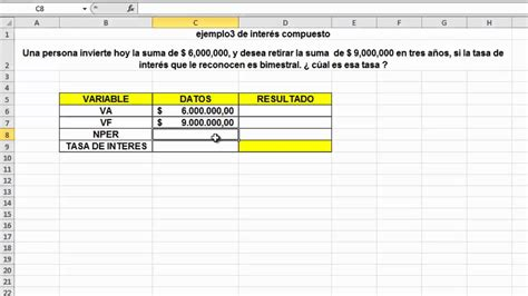 como calcular intereses moratorios en excel c 225 lculo de intereses youtube