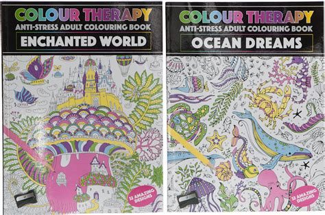 enchanted a collection books wholesale bulk colour therapy enchanted world book