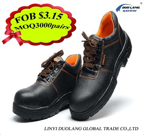 Rubber Safety Shoes Steel Toe With Most Comfortable Cheap