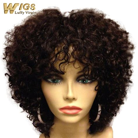 curly short hair all about curly hair natural human hair wigs brown short and curly hairs