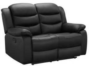 relax sofa 2 sitzer relaxsofa leder 2 sitzer pliton schwarz g 252 nstig