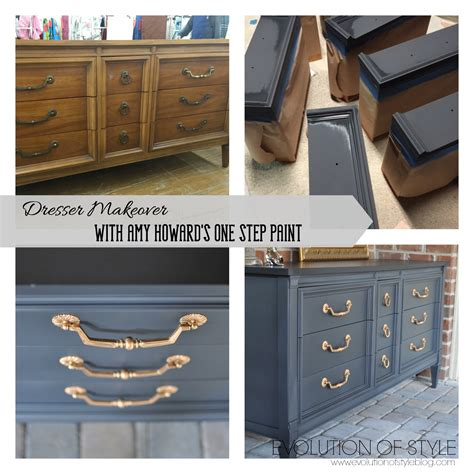 howard one step paint colors dresser transformed with howard s one step paint