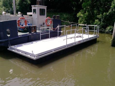 floating boat work platform floating platforms pontoons and floating systems