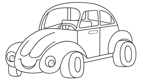 cartoon car coloring page cartoon car coloring pages for kidsfree coloring pages for