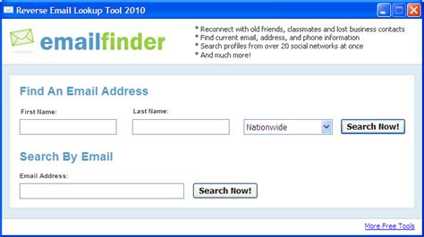 Address Finder Free Hotmail Email Address Lookup Free