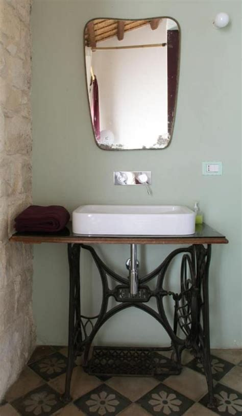 repurposed bathroom cabinet casa talia in modica sicily designed by marco