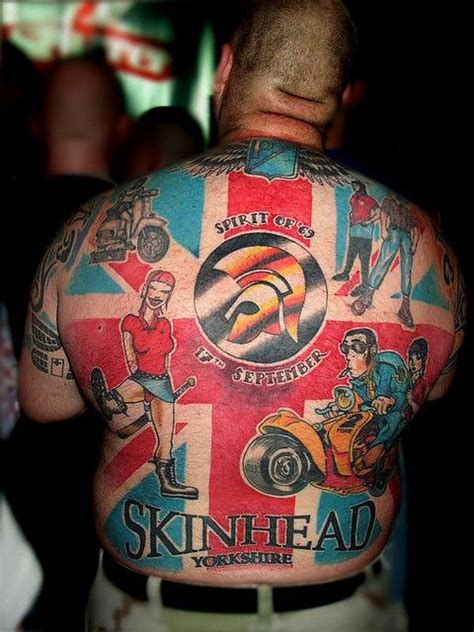 skinhead tattoos recent photos the commons getty