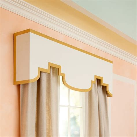 White And Gold Valance Moroccan Style Valance In White And Gold Diy Home