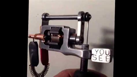 handmade tattoo machine youtube hand made rotary tattoo machine youseetattoomachines