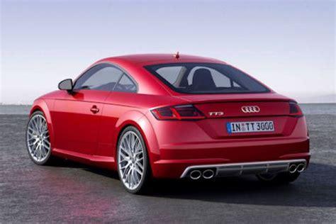 Audi Zusammenstellen by Audi Tt 2015 Alle Details Und Fotos Der 3 Generation