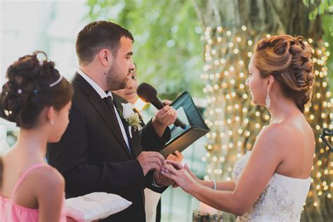 Wedding Ceremony No Officiant by Backyard Wedding Ceremony In New York Nyc Wedding