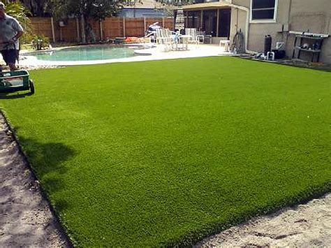 grass backyard artificial turf installation browndell texas home and
